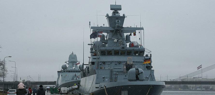 В нашу гавань заходили корабли