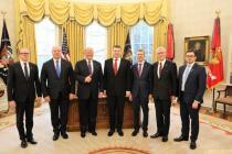 Рабочий визит министра обороны Латвии в США
