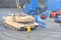 Перемещение американской военной техники