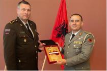 Визит командующего вооружёнными силами Албании