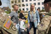 Морские пехотинцы США сделают выставку в Бауске