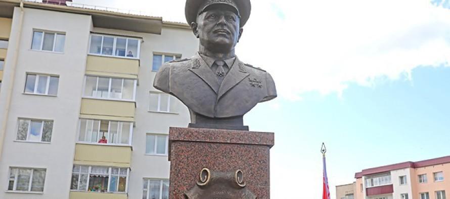 Бюст маршалу Баграмяну открыт в Белоруссии