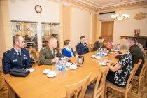Встреча с замкомандующего ВС США в Европе