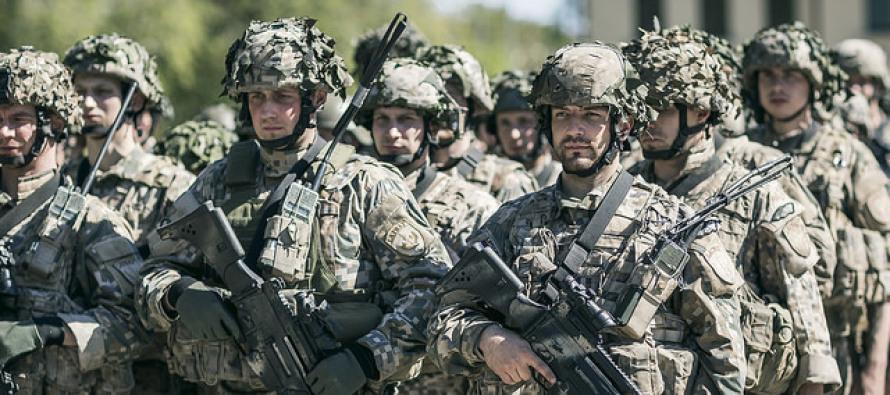 Военнослужащие и земессарги участвуют в учениях «Siil»