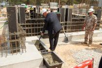 На Адажской базе строится новая казарма