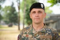 Смена командира Штабного батальона