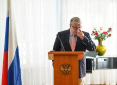 Пресс-конференция Посла России