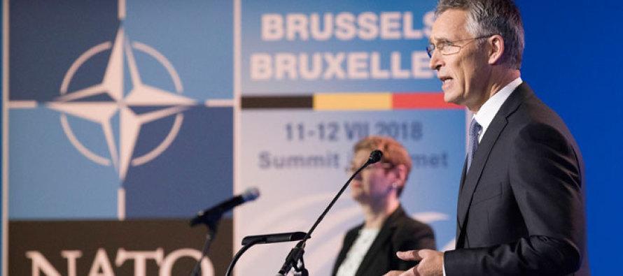 Саммит НАТО начнётся в Брюсселе 11 июля