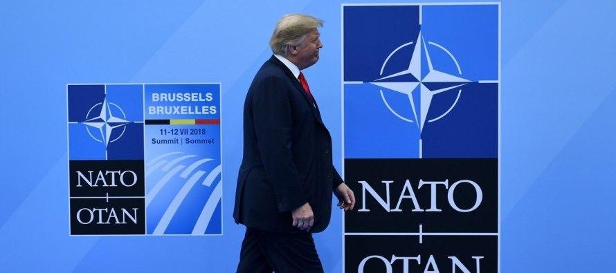 Трамп хочет, чтобы НАТО давала 4% оборонных расходов