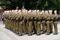 Выпуск офицеров Литовской военной академии