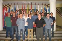 Визит кадетов США в Балтийский колледж обороны
