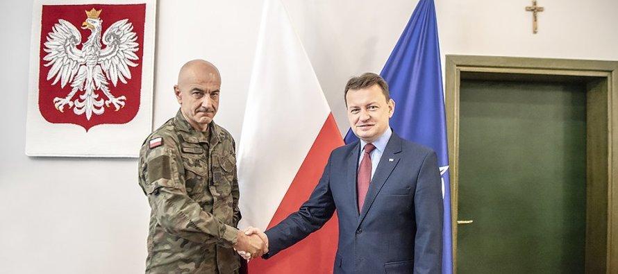 Новый начальник Генерального штаба ВС Польши