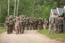 Курс основного военного обучения земессаргов