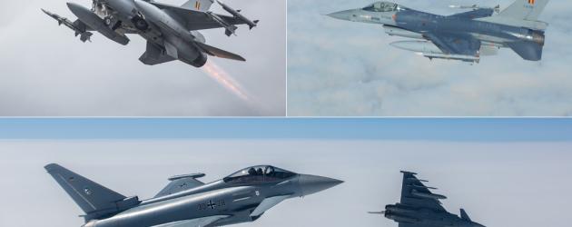 Ротация воздушной полиции над Балтией