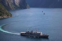 Корабли НАТО у берегов Норвегии