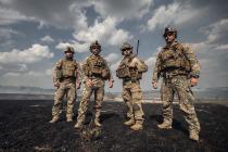 Взаимодействие латвийских военных и морпехов США