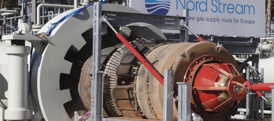 Планое обслуживание газопровода «Норд Стреам»