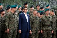 Визит премьер-министра Польши на базу в Адажи