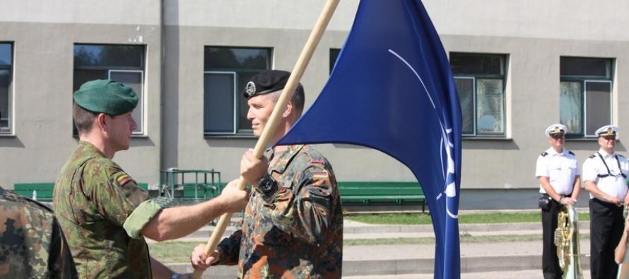 Смена командира Боевой группы НАТО в Литве