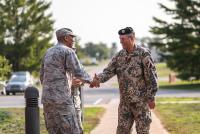 Командующий НВС посетил учения «Northern Strike 2018″