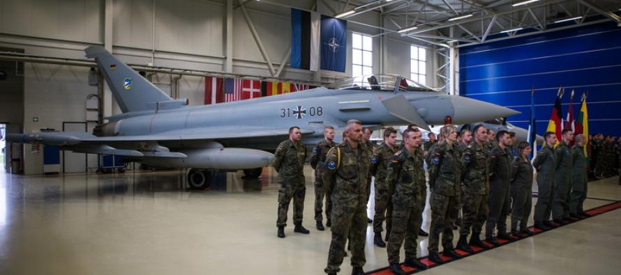 Немецкие летчики охраняют небо стран Балтии