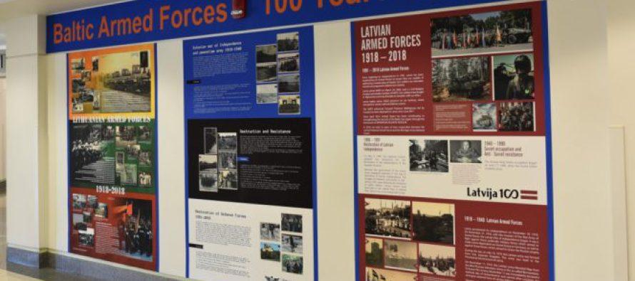 Выставка «100 лет Вооружённых сил Балтийских стран»