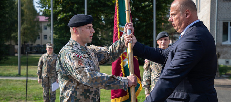 Cмена командира Батальона поддержки боя
