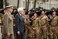 Базу в Адажи посетил президент Италии