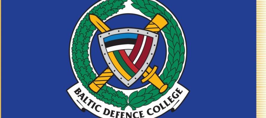 Новое знамя Балтийского колледжа обороны