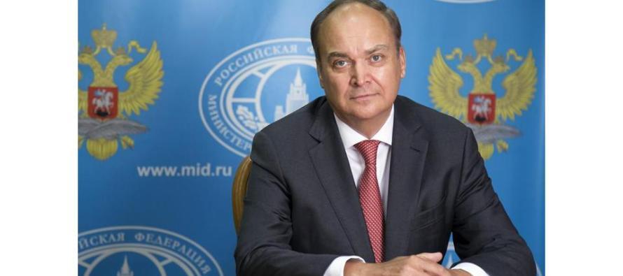 Ответы посла России в США А. Антонова на вопросы «Эха Москвы»