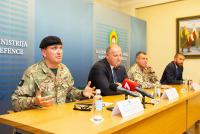 Визит замкомандующего силами НАТО в Латвию