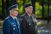 Визит командующего армией Финляндии в Латвию
