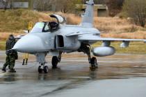 Семь самолётов Jas 39 Unit – вклад Швеции в Trident Juncture 18