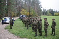Солдаты Куперьяновского батальона помогли спасти человека