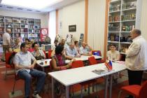 Литературная встреча в рамках Дней русской культуры