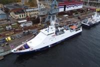 Корабль «Безупречный» принят на Погранслужбу ФСБ