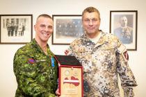 Визит командующего сухопутными силами Канады
