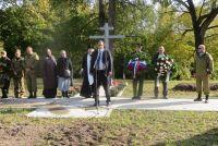 В Екабпилсе перезахоронили солдат Русской армии