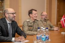 Датский принц Йоахим с визитом в Латвии