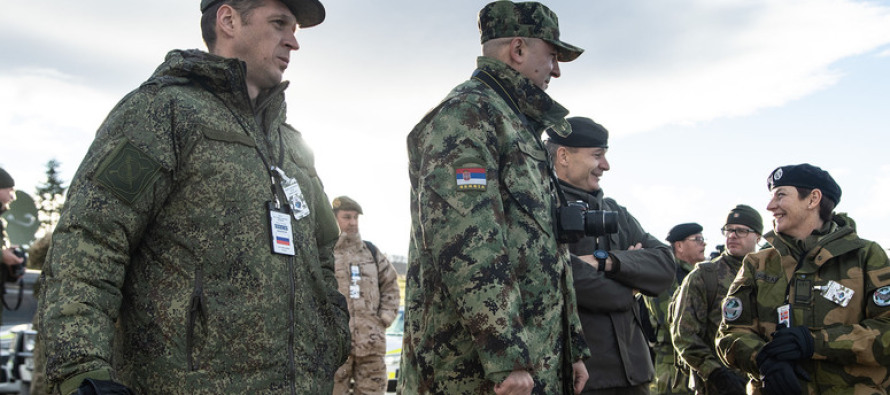 Международные наблюдатели на Trident Juncture 2018