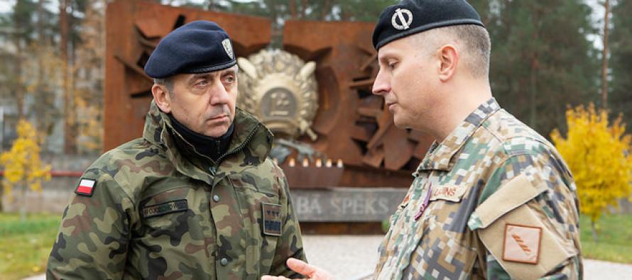 Визит начальника штаба корпуса НАТО