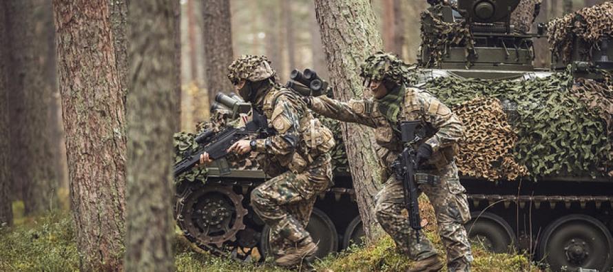 """Военные учения """"Tomahawk patrolling"""""""