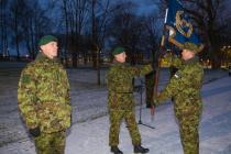 Полковник Палм принял флаг начальника Генштаба