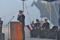 На эсминце USS Porter (DDG 78) сменился командир