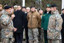 Смена командира 1-й Рижской бригады Земессардзе