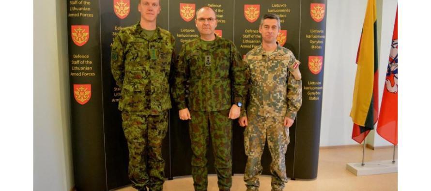 Встреча Начальников штабов Литвы, Латвии и Эстонии