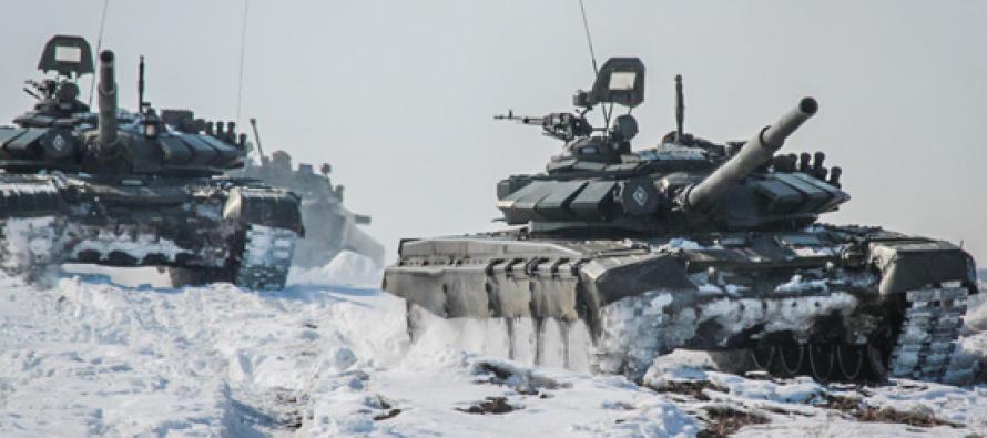 Части гвардейской танковой армии встретят Новый год