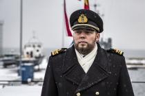 У минного тральщика EML UGANDI новый командир