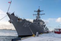 США и Дания приняли военно-морские группы НАТО