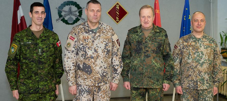 Визит командующего силами НАТО в Брунсуме